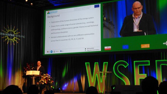 ENTRUST research presented at WSED 2018