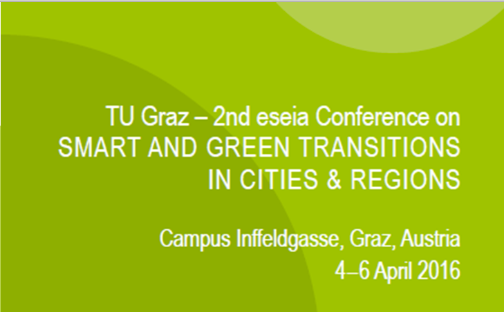 ENTRUST work presented at eseia conference on transitions, Graz AT