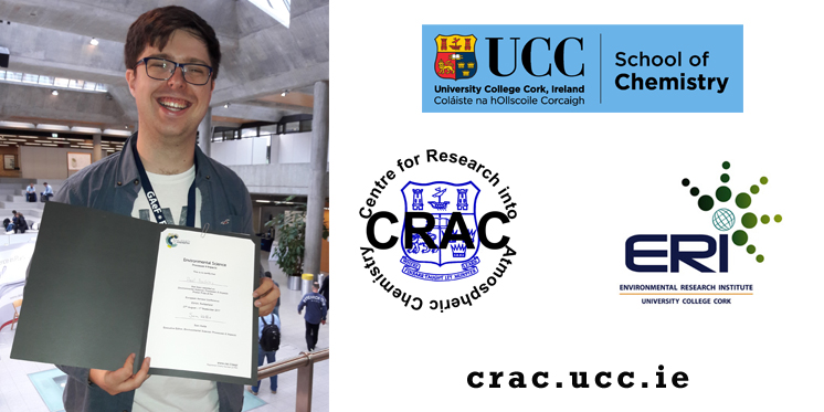 Best poster Prize for Paul Buckley