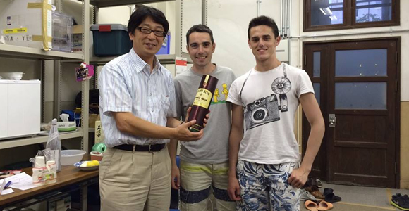 CRAC sends two undergraduate students to Japan