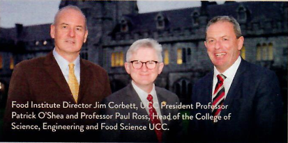 FI director, UCC Pres and Paul Ross