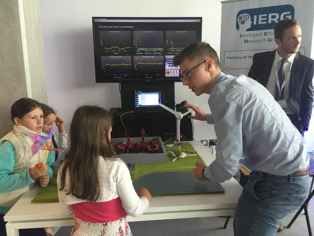 IERG Present Factory of the Future at SeaFest 2015