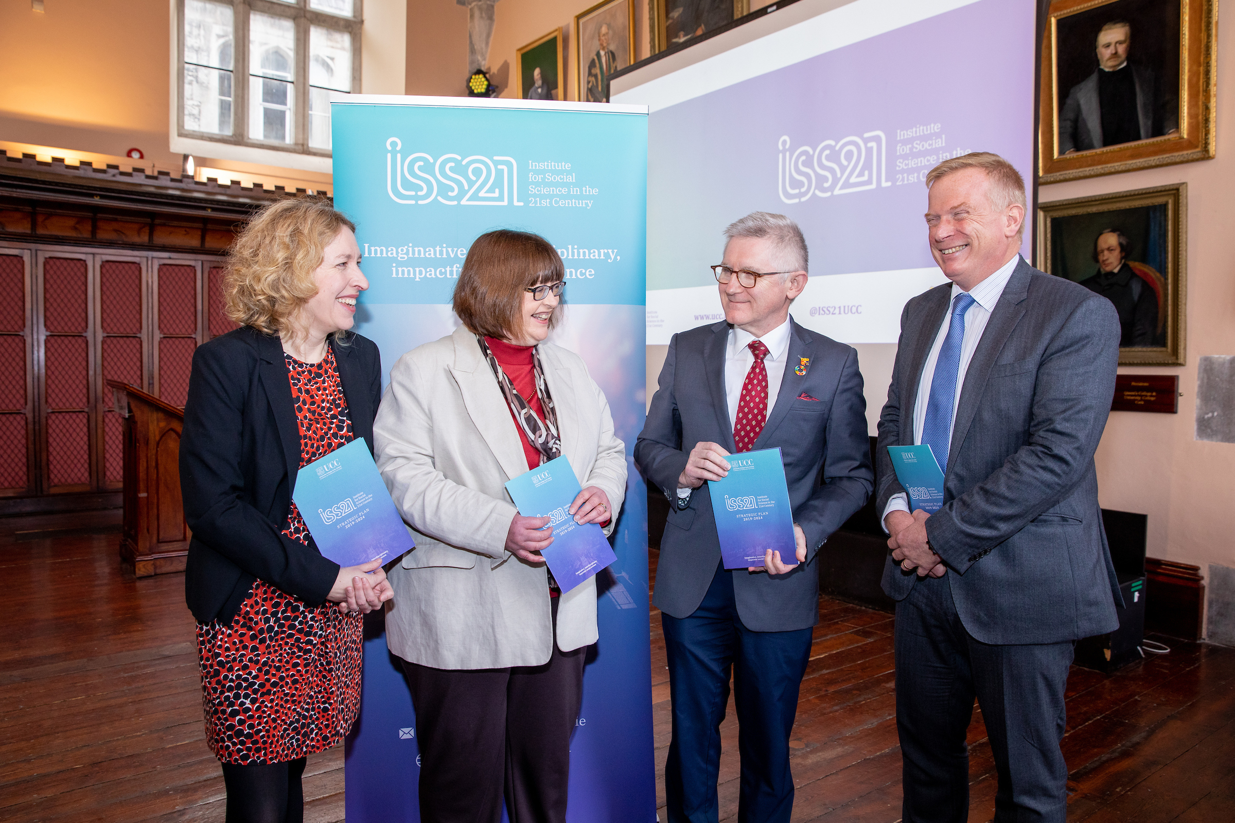 Launch of ISS21 Strategic Plan 2019-2024