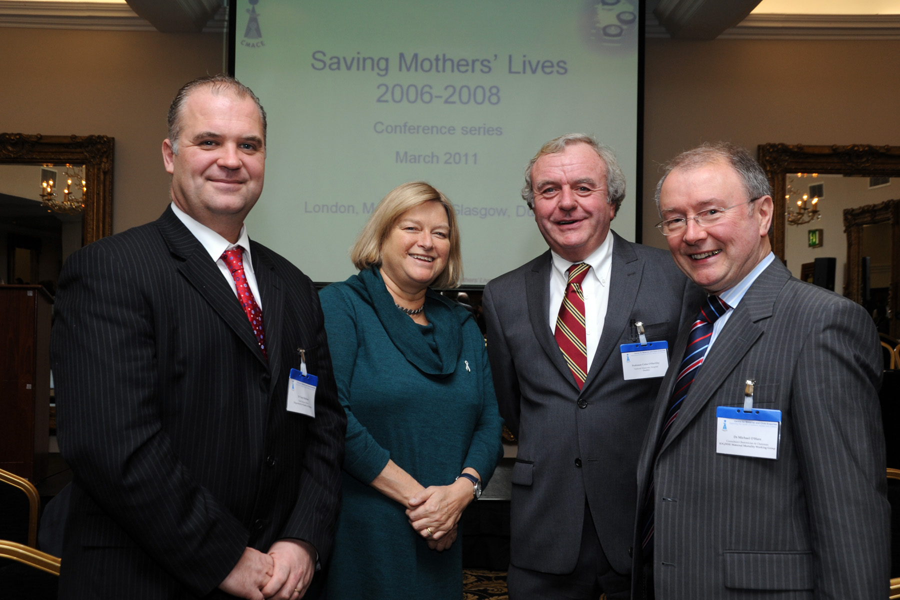 Saving Mothers' Lives Conference: Launch of the Eighth Report of the Confidential Enquiries into Maternal Deaths in the UK, Dublin, March 2011.