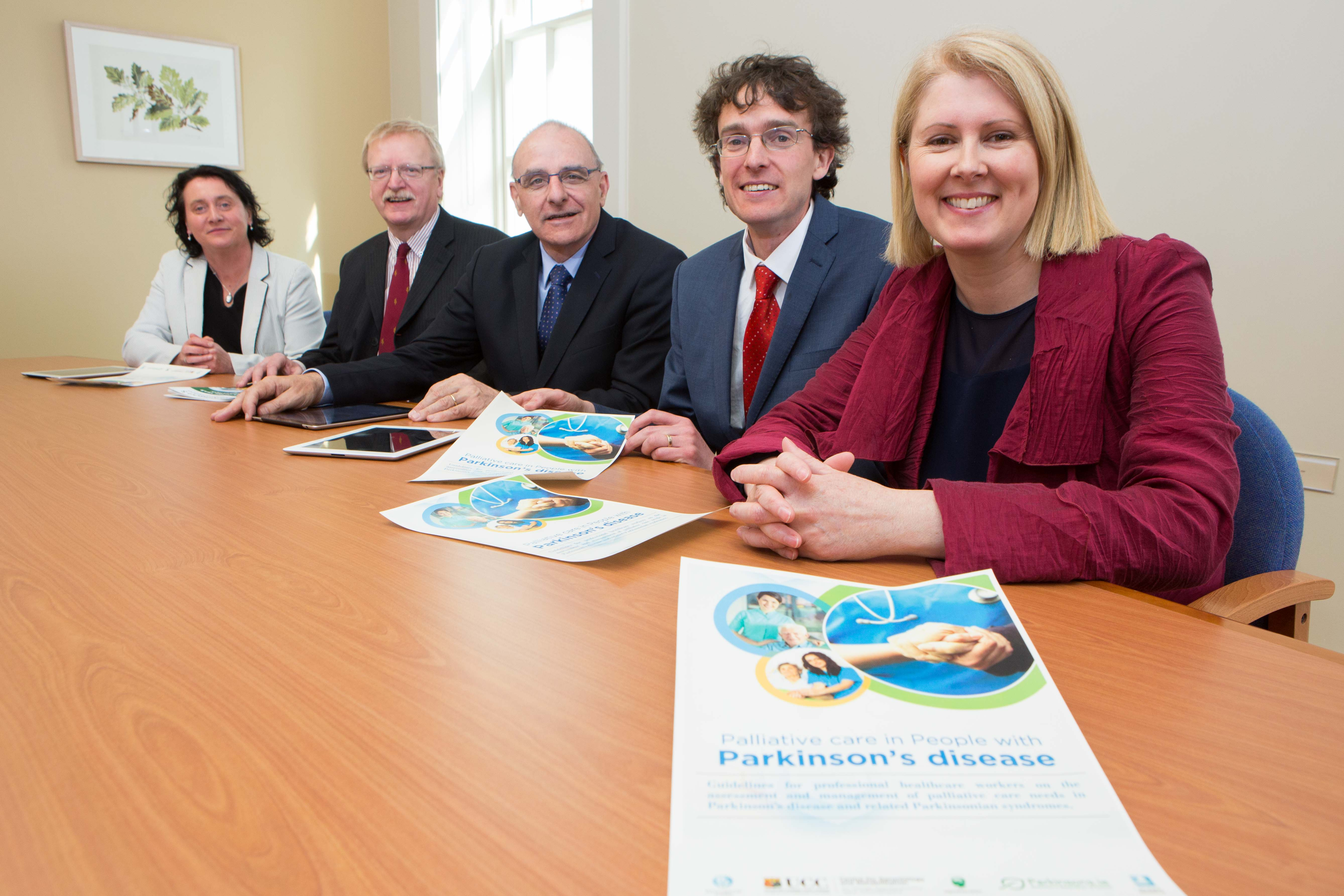 Official launch of the 'Palliative Care in People Parkinson's Disease' Guidelines