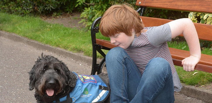 Puppy Love... or how assistance dogs can help children with ASD