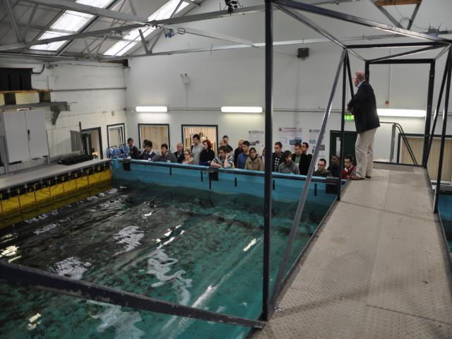 Hydraulics & Maritime Research Centre: Wave Test Tank