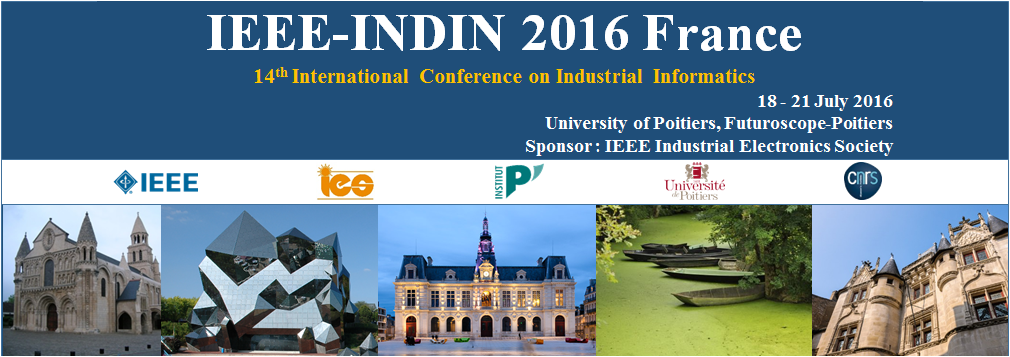 URG paper presented at IEEE-INDIN 2016 in Poitiers, France
