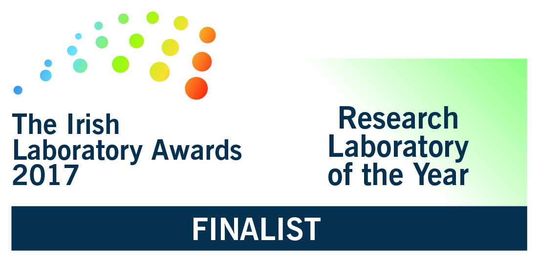 Cork Centre for Vitamin D and Nutrition Research Finalists in the Irish Laboratory Awards 2017