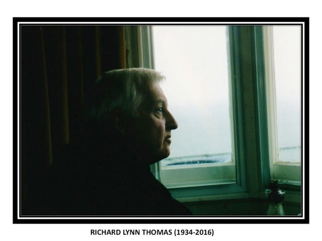 In memory of Richard Lynn Thomas