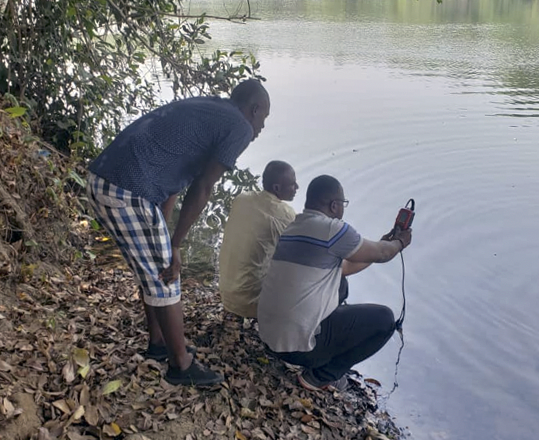 MSc project feature: Mohamed Juanah's freshwater quality research in Sierra Leone.