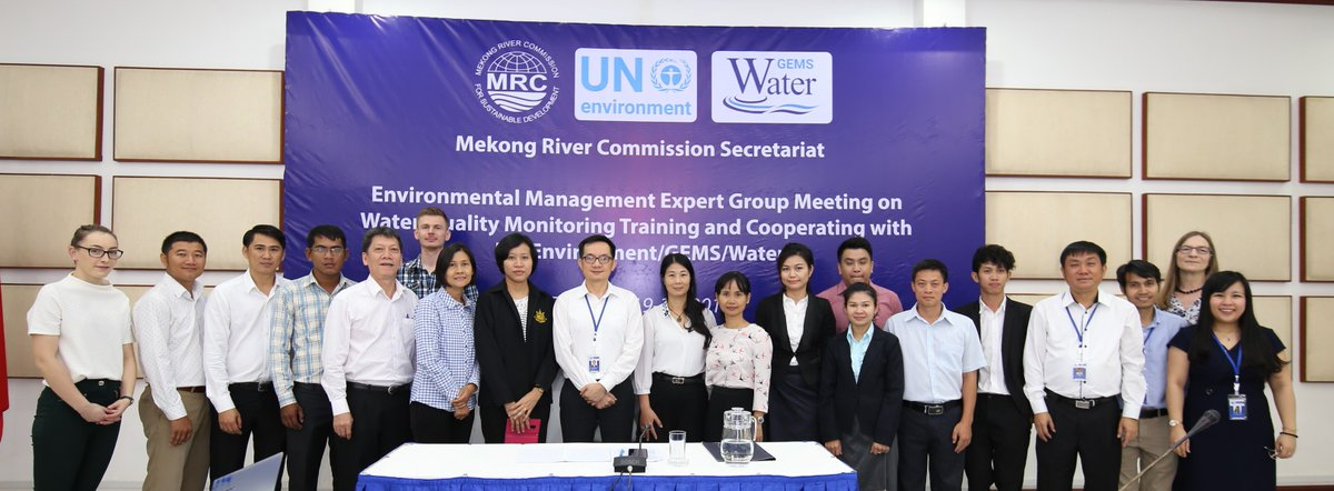Water Quality Monitoring Training and Cooperating with UN Environment/GEMS