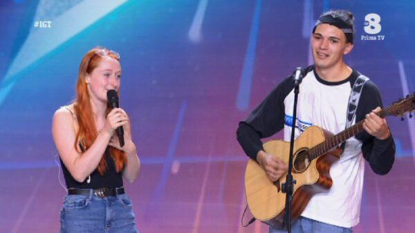 Singer in tears as Cork girl stuns him on stage on Italy's Got Talent