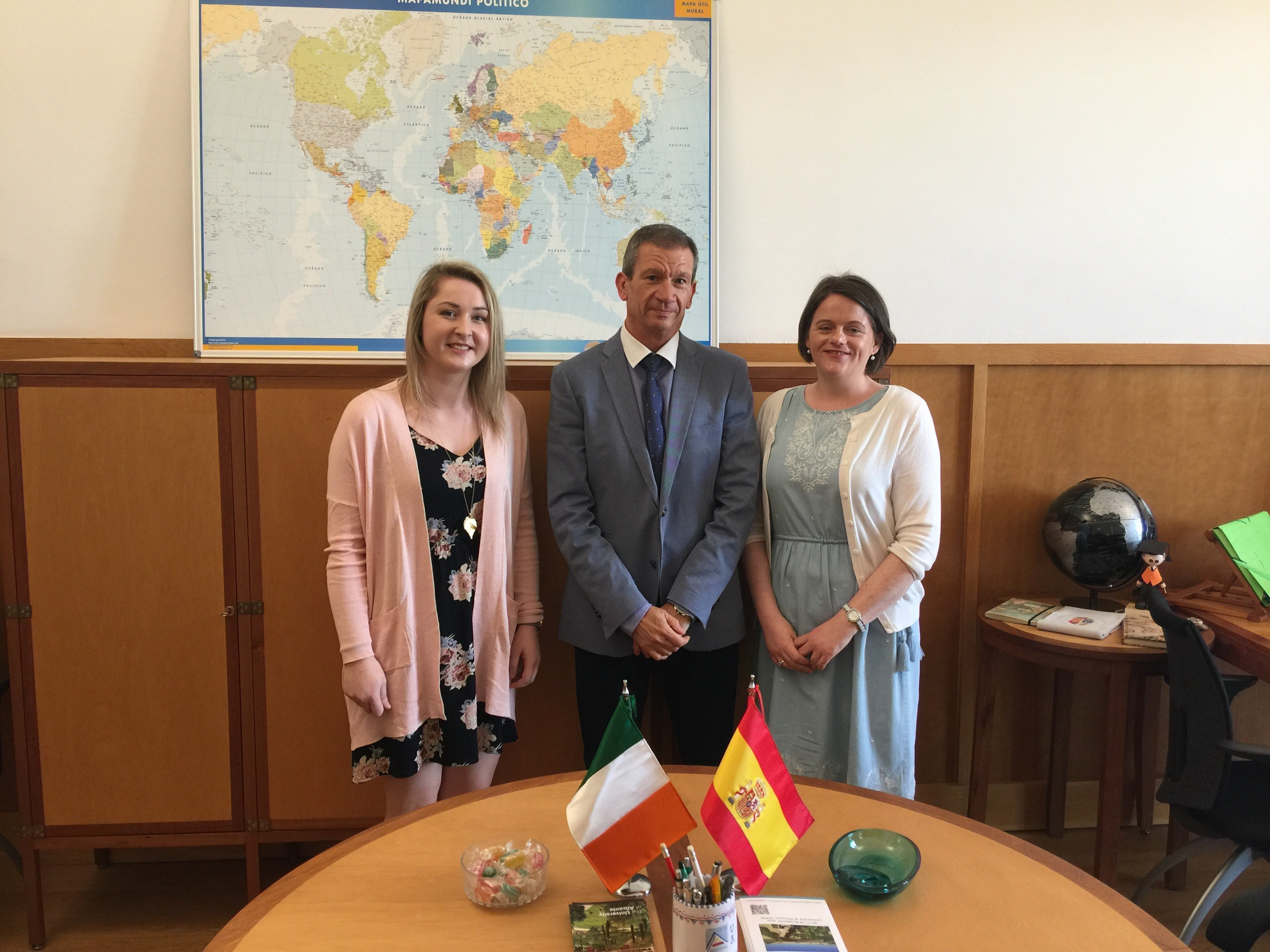 Erasmus Partnership with the University of Alicante, Spain