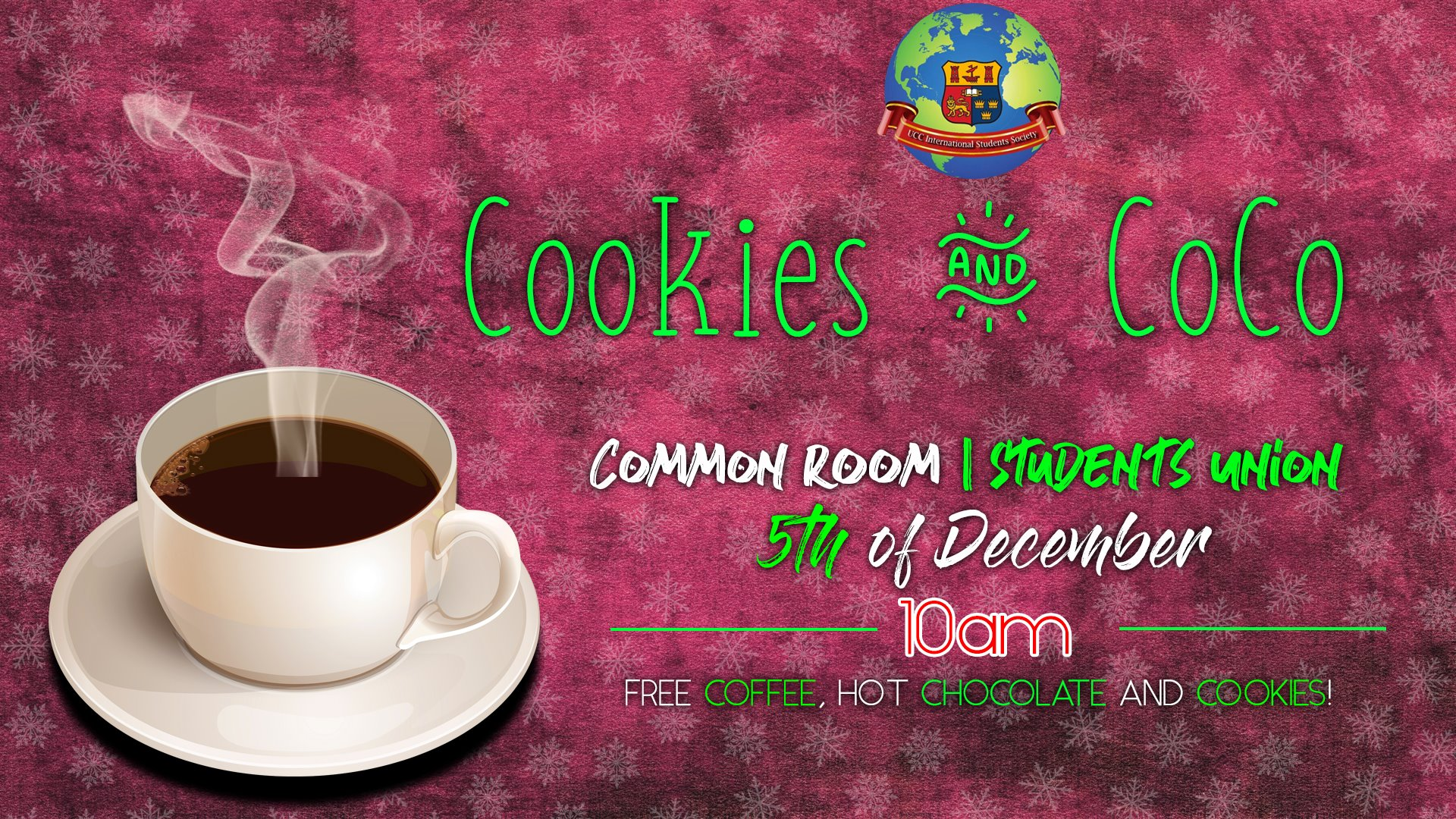 Cookies and Coco- 5th December