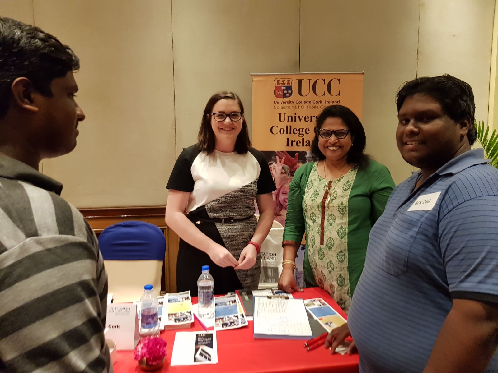 Meeting Prospective Students in India and Sri Lanka