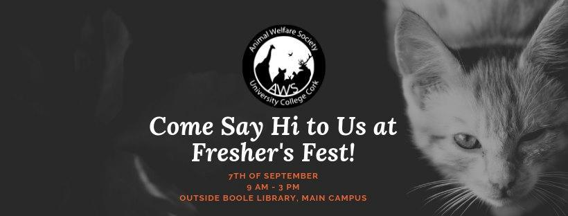 Animal Welfare Society, Fresher Fest- Sept 7