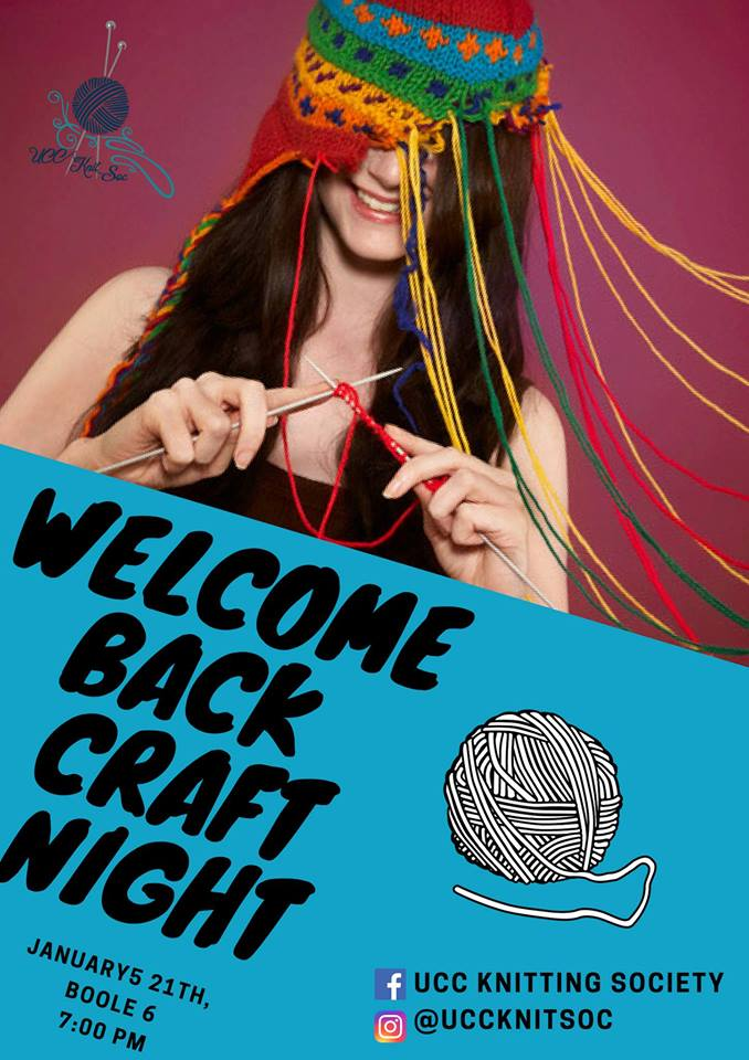 Welcome Back Craft Night - 21 January