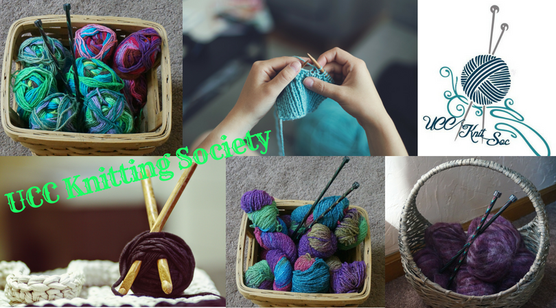 UCC Welcome to The Knitting Society- 16th September