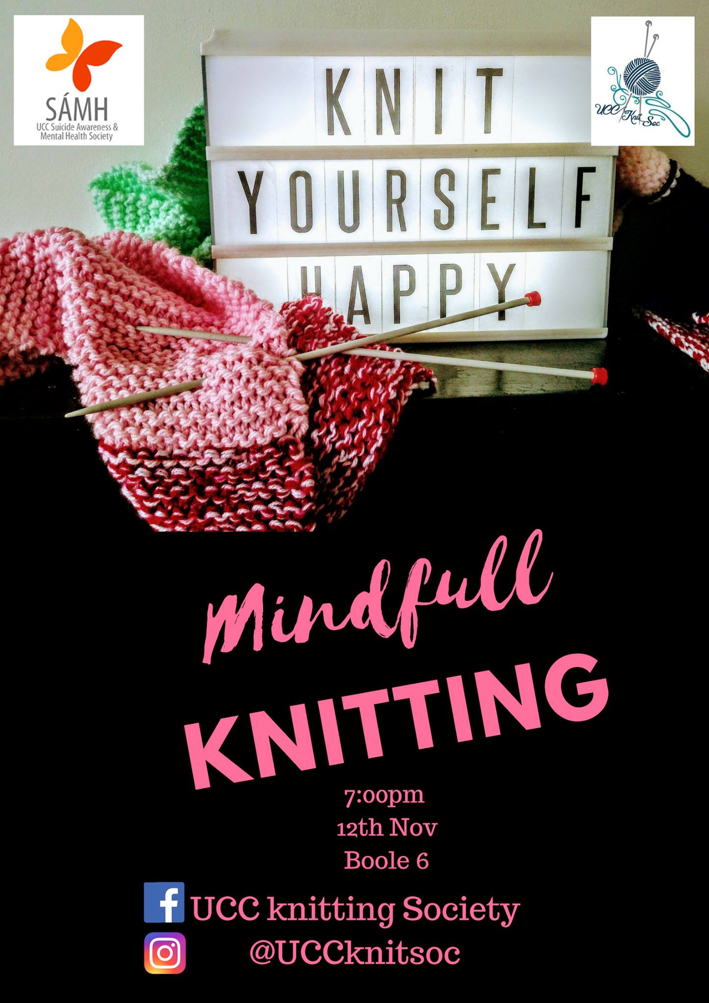 Mindfull Knitting - 12th November