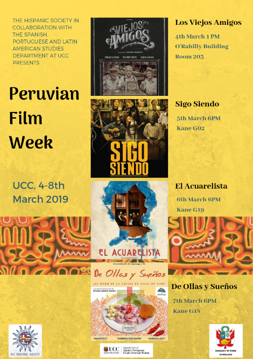 Peruvian Film Week, March 4th-7th