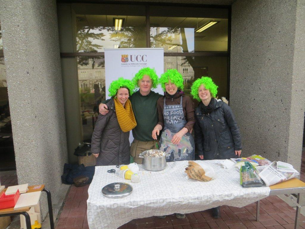 Having fun at UCC's Green Week