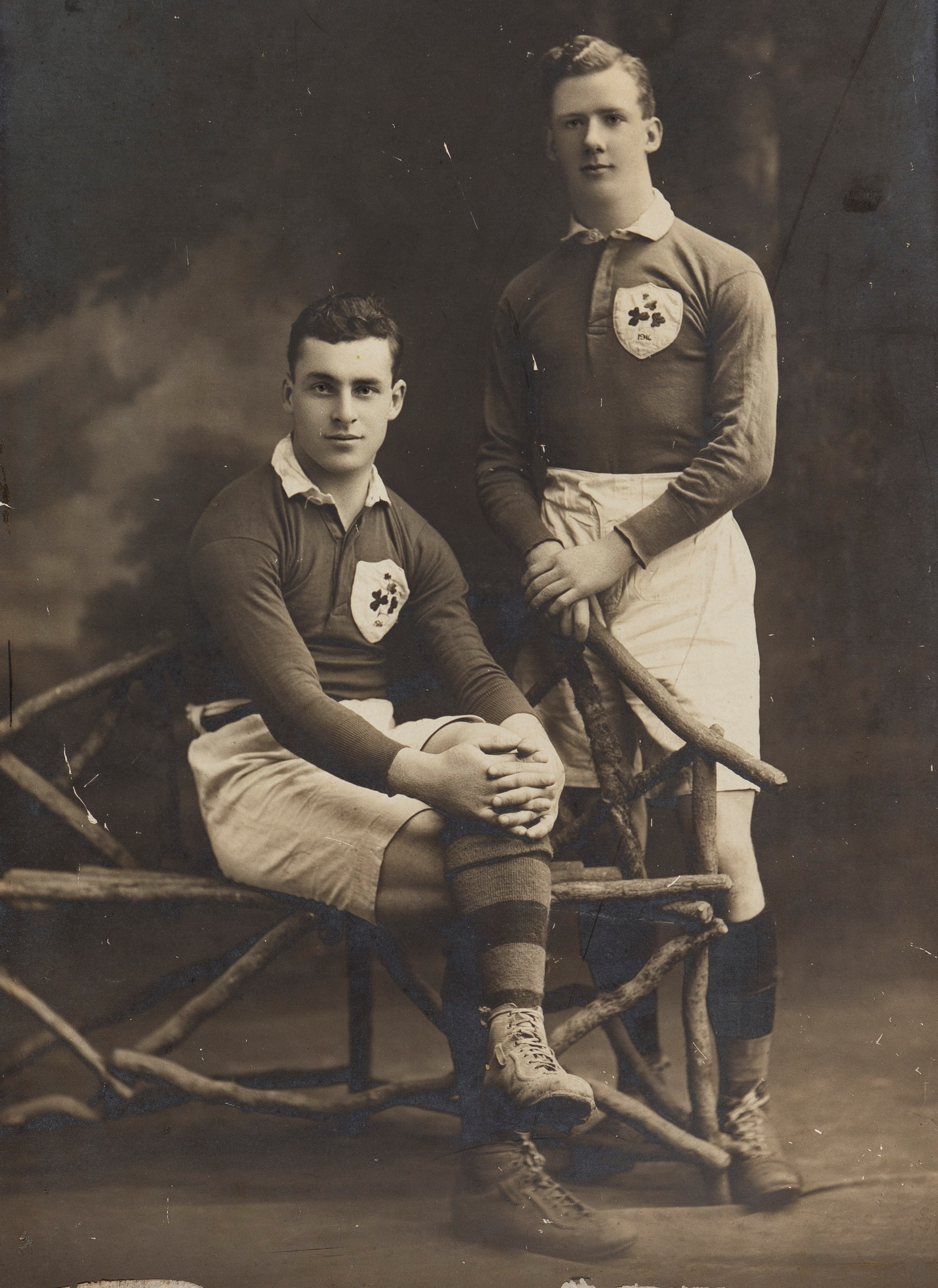Great win for Ireland over Wales last weekend, the same match held 100 years ago has a UCC connection