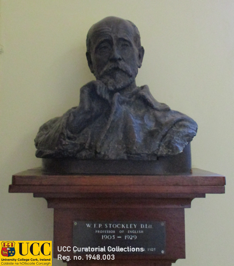 Portrait bust, Joseph Higgins (1885-1925), 'W. F. P. Stockley'