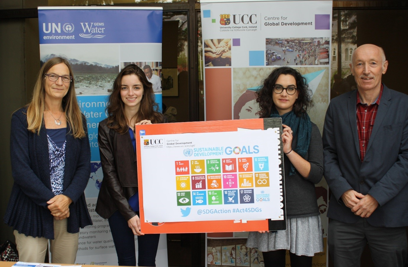 UCC Centre for Global Development awards two Masters' Research Scholarships addr