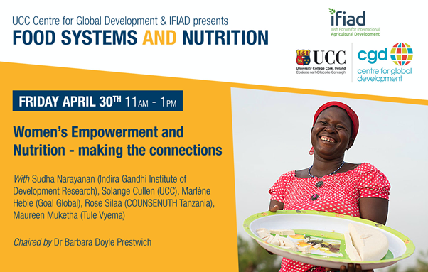 Food Systems and Nutrition Webinar