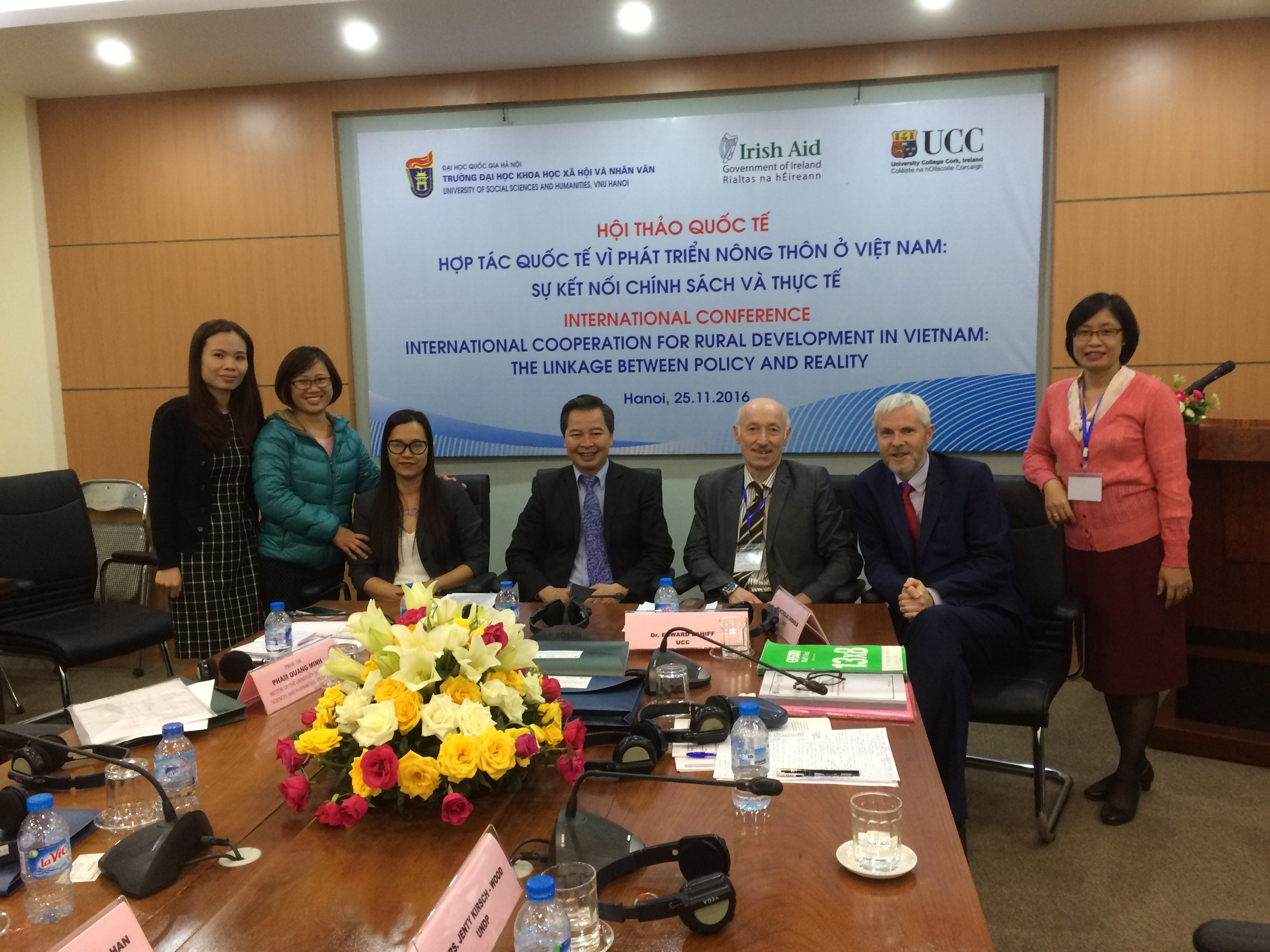 UCC-Vietnam Programme Officially Launched