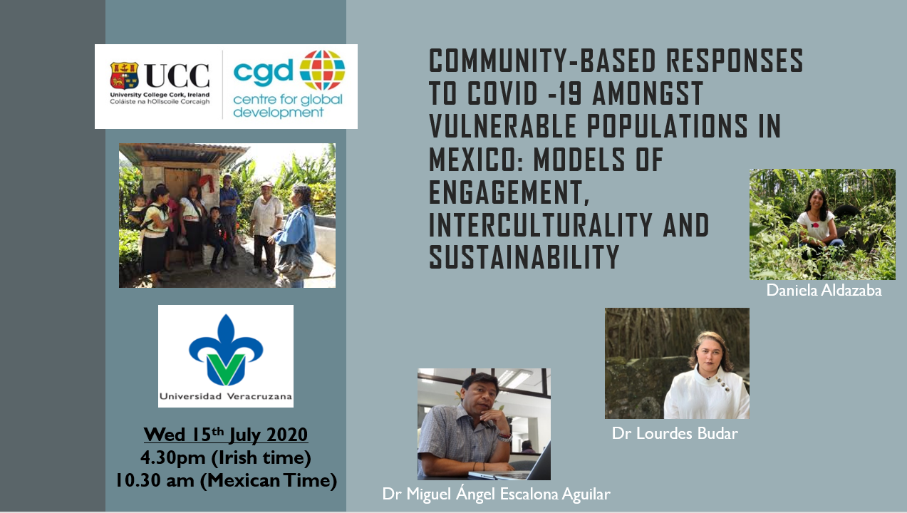 Community-based Responses to COVID-19 CDG Seminar