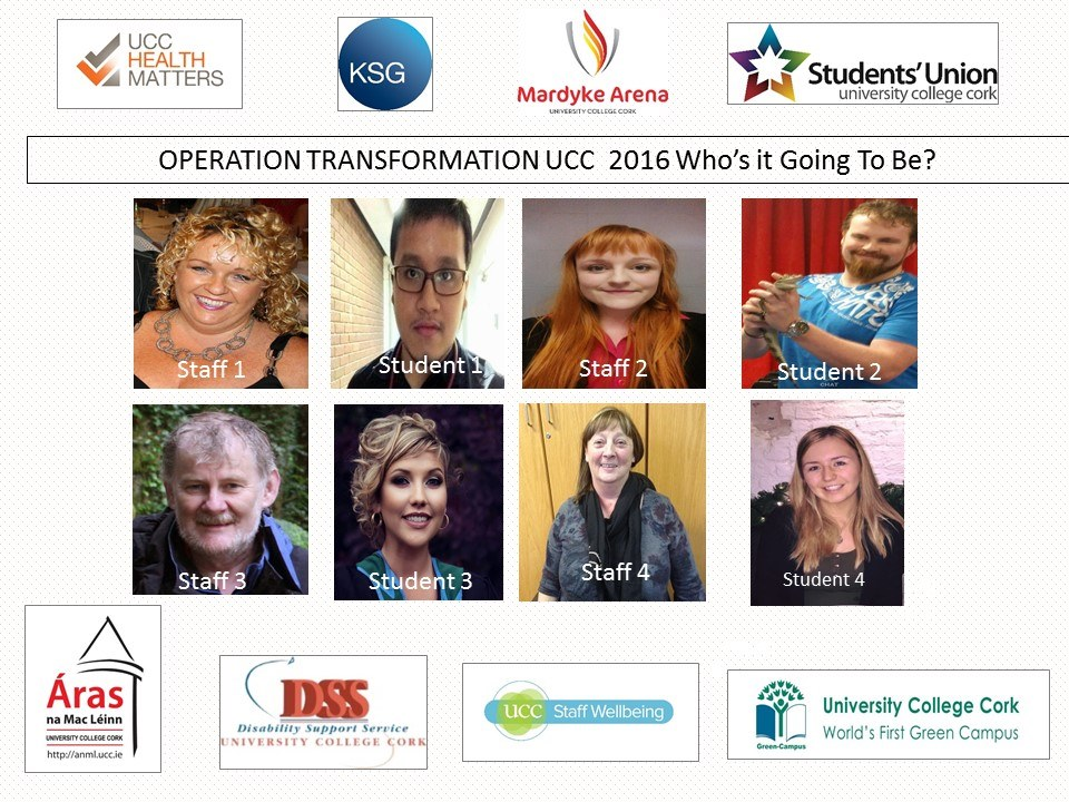 UCC Operation Transformation Leaders 2016