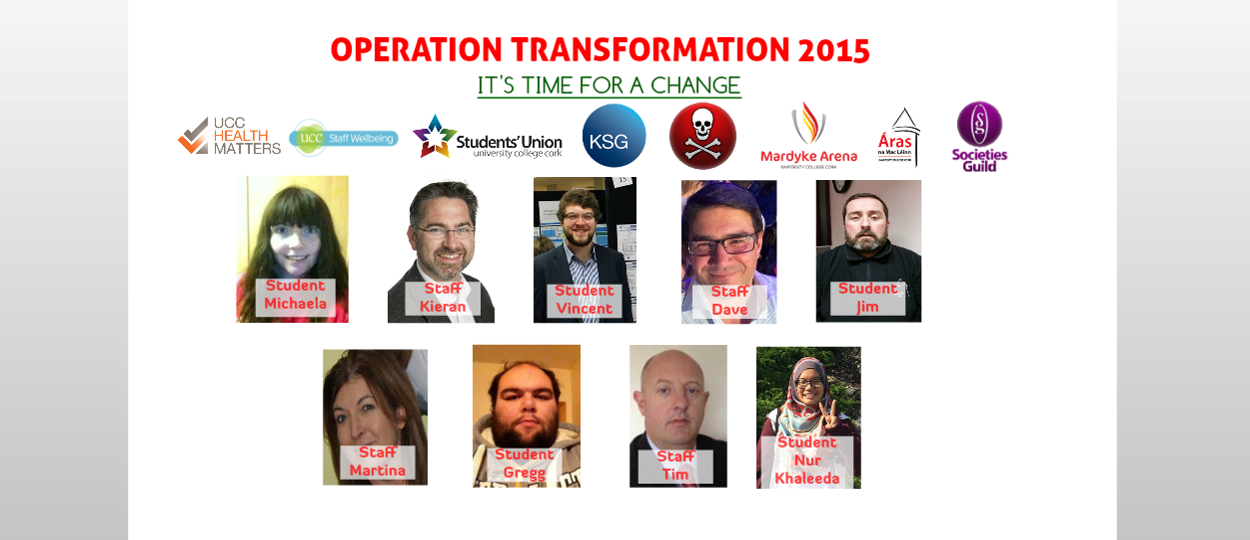 UCC Operation Transformation Leaders 2015