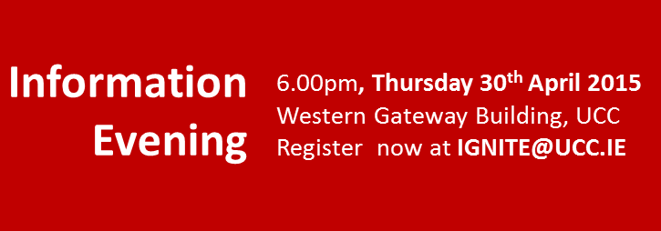2015 IGNITE Open Information Evening