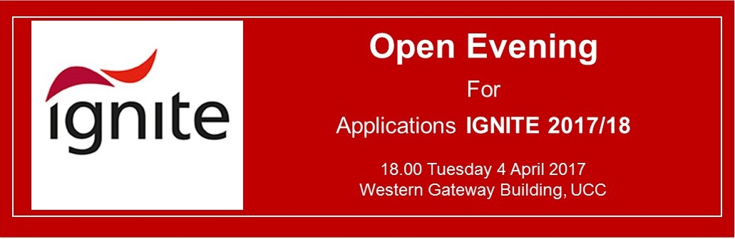 IGNITE Open Evening 2017/18