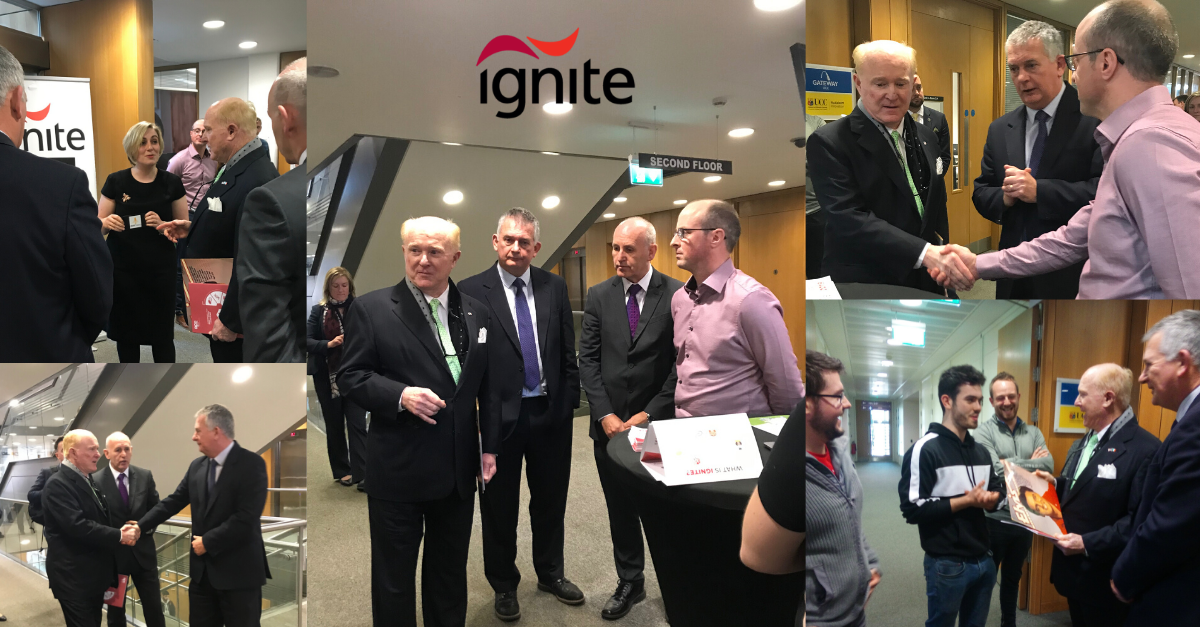 IGNITE Welcomes The U.S. Ambassador to Ireland