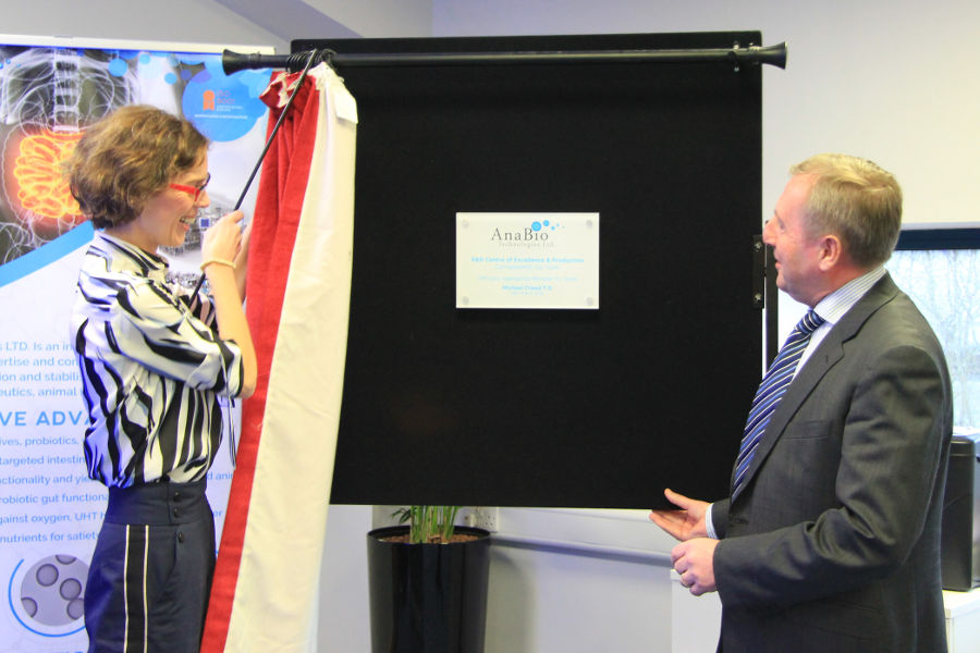 Official opening of new facility for IGNITE startup AnaBio Technologies