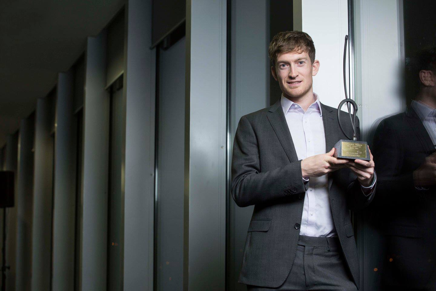 Conor Lyden, CEO, Trustap wins in Ireland's Best Young Entrepreneur Regional Finals