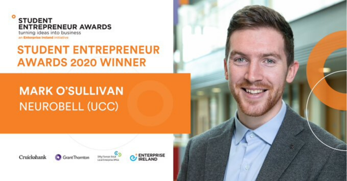 Mark O'Sullivan Wins National Student Entrepreneur Award