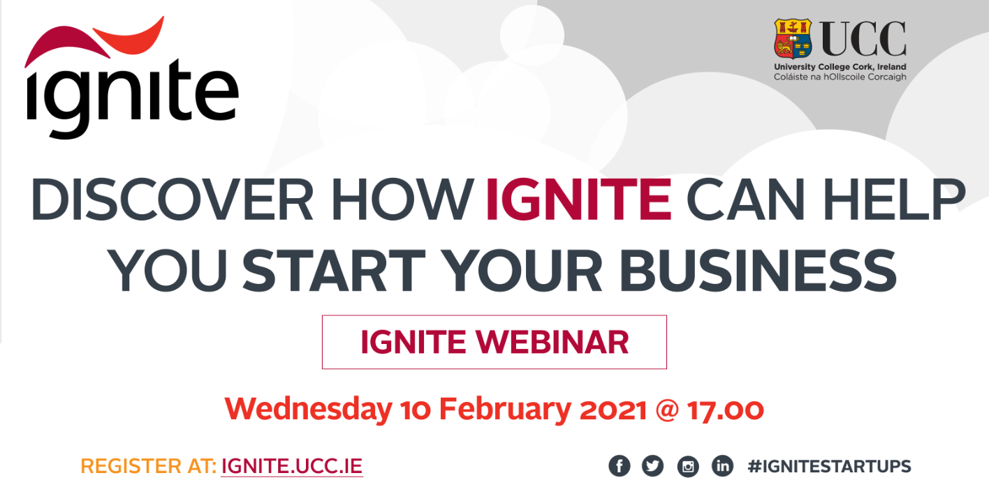 IGNITE Information Webinar - Discover How IGNITE Can Help You Start Your Business