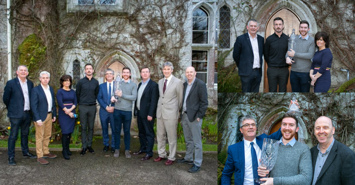 Mark O'Sullivan, wins UCC Entrepreneur of the Year