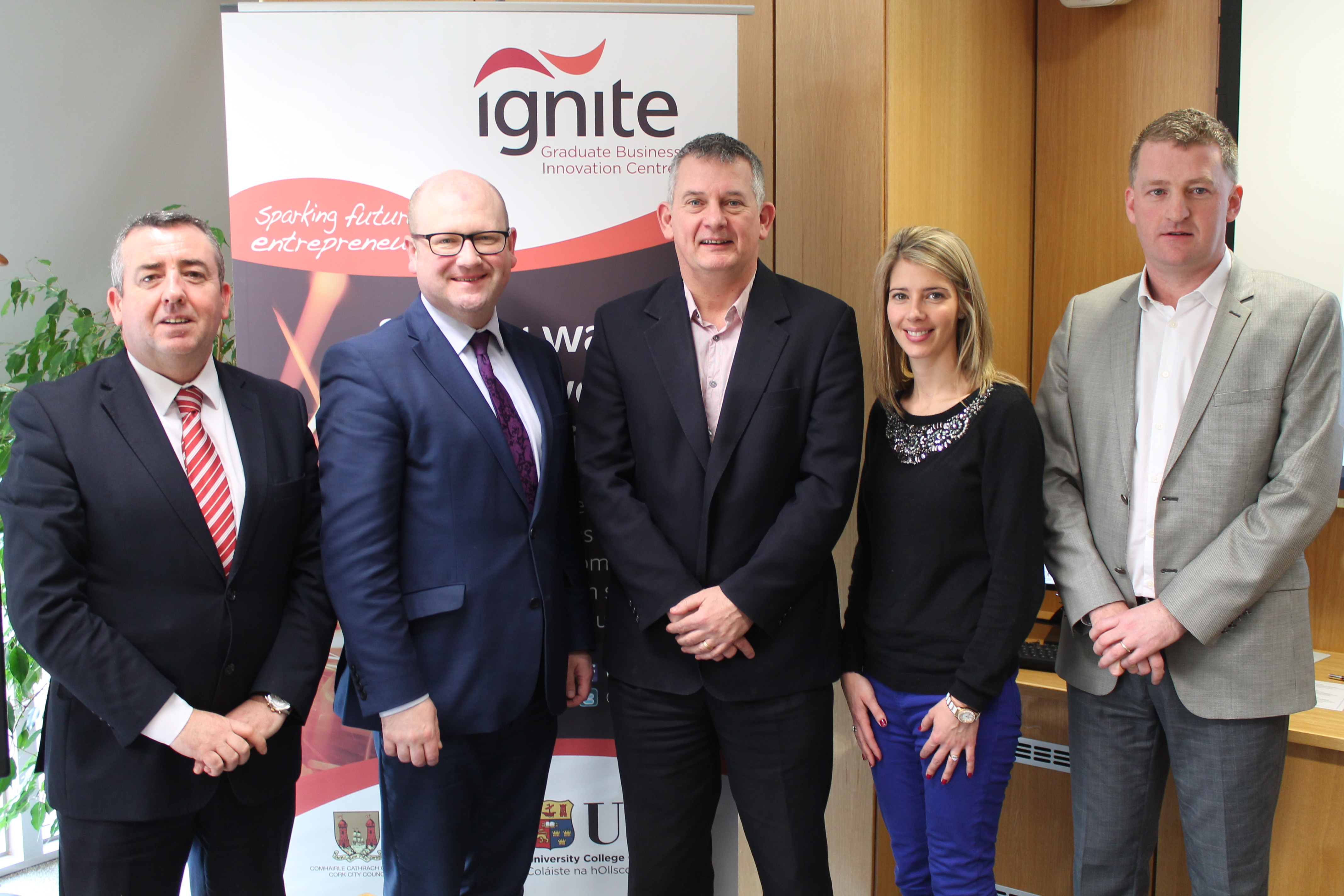IGNITE Welcomes Minister Ged Nash