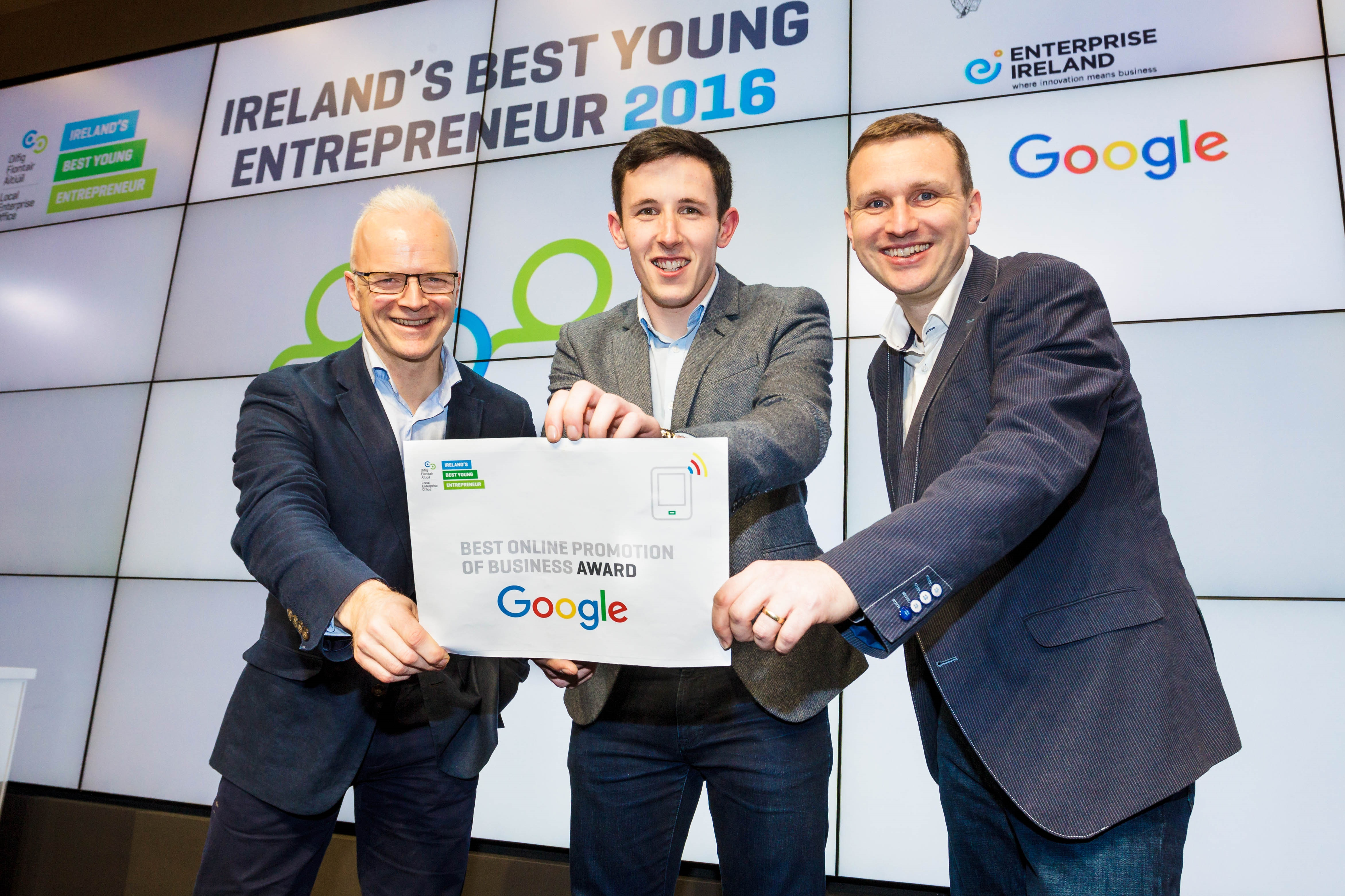 Richard Barrett Wins Google Award at IBYE