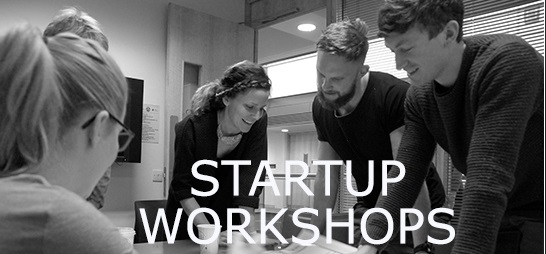 Start-Up Workshops Closing Date Weds 27 Sept 2017