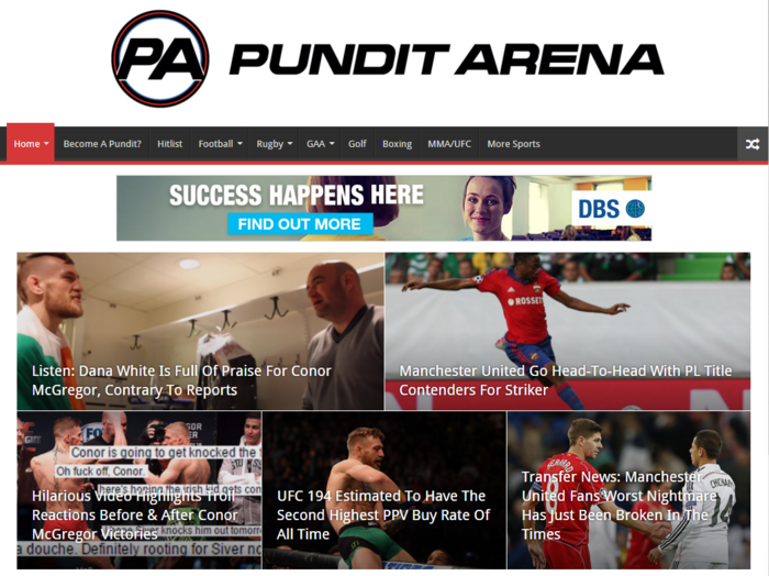 Irish-Based Sports Media Platform, Pundit Arena Raises €650,000