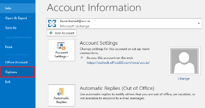 EOL-Outlook Search Feature Not Working | University College Cork