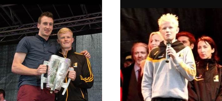 Quercus Scholar Alan Hayes performs at Kilkenny homecoming ceremony