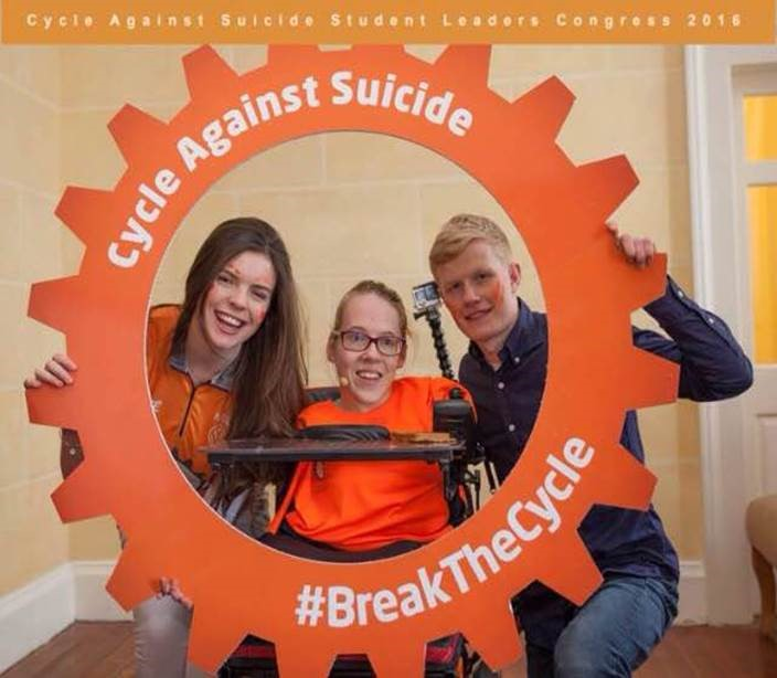 Cycle Against Suicide Student Congress, RDS, January 14th