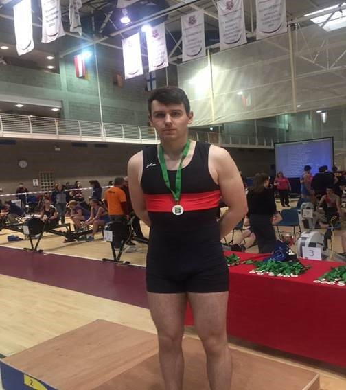 Quercus Sport Scholar Jack Casey is National U23 indoor Rowing Champion!